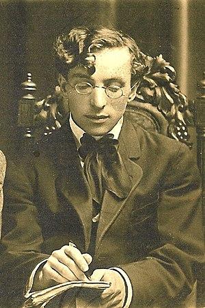 Edward Sperling - A young Edward Sperling, 1911