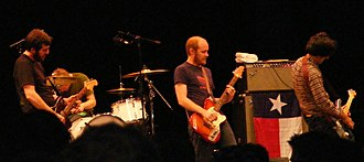 Explosions in the Sky - Performing at Central Park SummerStage on June 30, 2009