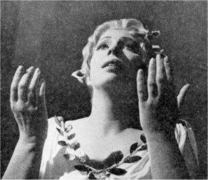 Elizabeth Harwood - Harwood as Handel's Semele, 1964
