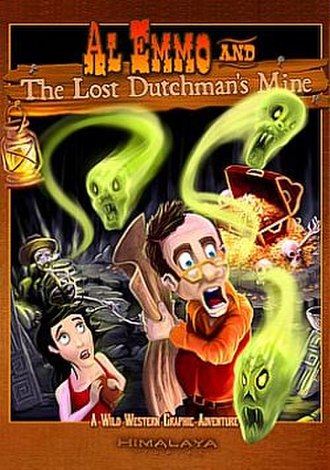 Al Emmo and the Lost Dutchman's Mine - Image: Emmo cover small
