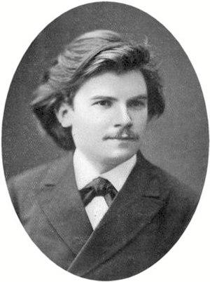 Eugen d'Albert - d'Albert aged 20