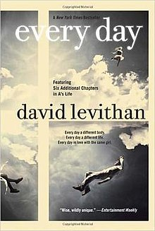 Image result for Every Day by David Levithan