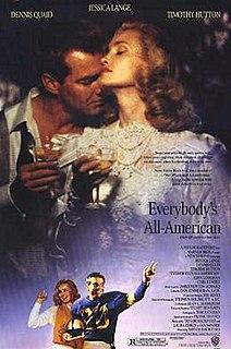 <i>Everybodys All-American</i> (film) 1988 film by Taylor Hackford
