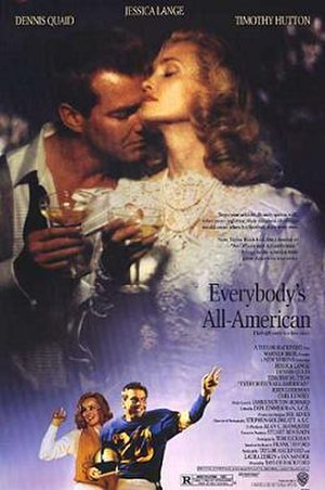 Everybody's All-American (film) - Theatrical Release Poster
