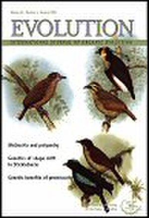 Evolution (journal) - Image: Evolution cover