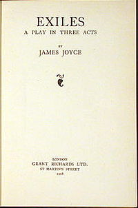 Exiles First Edition Title Page.jpg