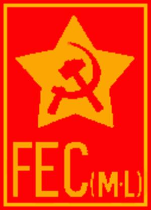 Communist Electoral Front (Marxist–Leninist) - Image: Fecmllogo