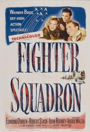 Fighter Squadron - Theatrical release poster