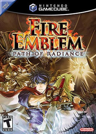 Fire Emblem: Path of Radiance - North American cover art