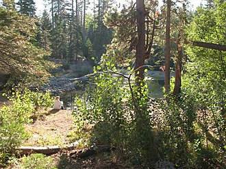 Lake Tahoe Basin Management Unit - A small pond in the Lake Tahoe Basin Management Unit.