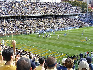 2007 Georgia Tech Yellow Jackets football team - View from the south student section.