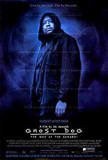 <i>Ghost Dog: The Way of the Samurai</i> 1999 film by Jim Jarmusch