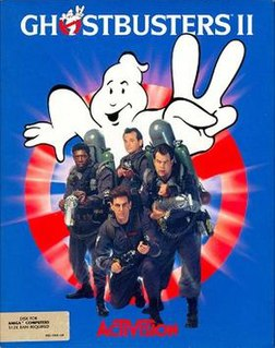 <i>Ghostbusters II</i> (computer video game) Wikipedia article about two topics