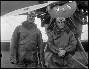 Harry Frank Guggenheim - Guggenheim and Jimmy Doolittle circa 1928-1930