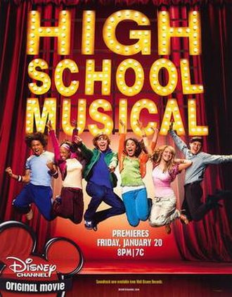 High School Musical - Promotional poster