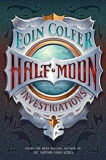 <i>Half Moon Investigations</i> book