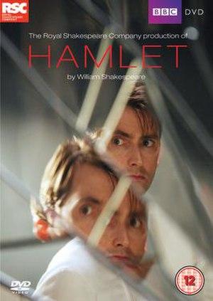 Hamlet (2009 film) - DVD cover for Hamlet