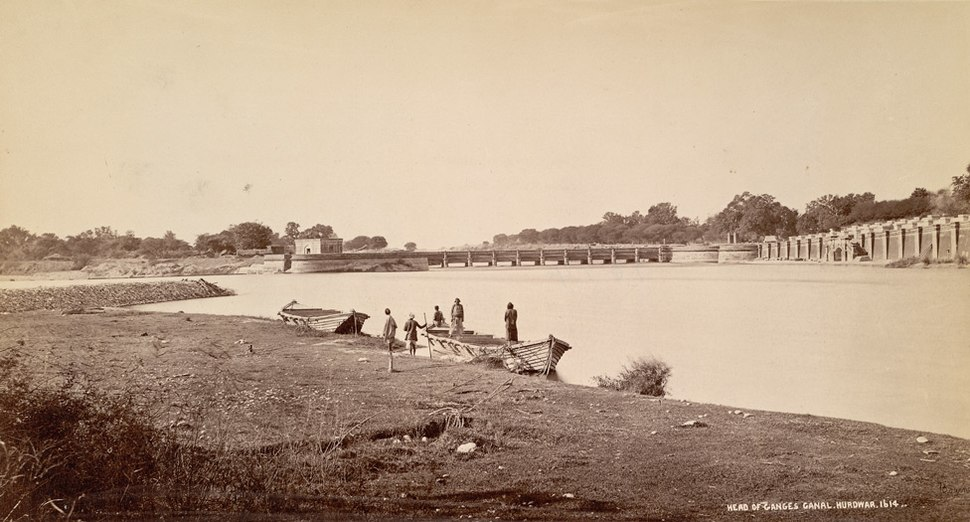 Headworks ganges canal haridwar1860