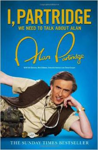 I, Partridge: We Need to Talk About Alan - Image: I, Partridge book cover