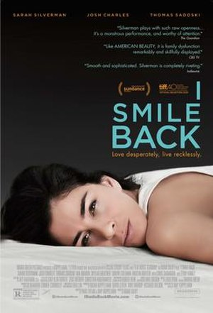 I Smile Back - Theatrical release poster