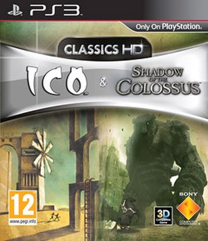 The Ico & Shadow of the Colossus Collection - European cover art