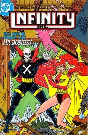 Mister Bones - Art by Todd McFarlane and Tony DeZuniga.
