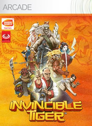 Invincible Tiger: The Legend of Han Tao - Image: Invinclbetigercover