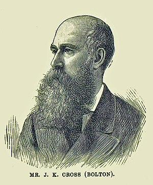 John Kynaston Cross - Cross in 1880