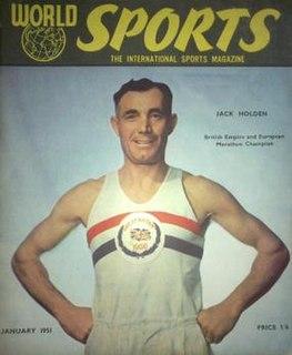 Jack Holden (athlete) British athlete