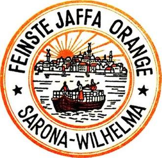 Jaffa orange - Jaffa Orange brand from Sarona