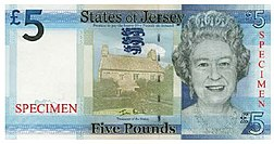 Jersey Island Currency