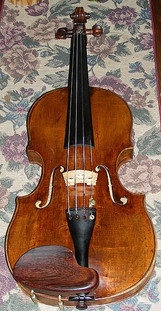 Klotz (violin makers) - A copy of a violin made by Joseph Klotz in Germany in 1794