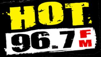 KLXQ - Image: KHTO Hot 96.7 logo