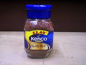 Kenco coffee.