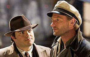 Carl Denham - Denham (left) as portrayed by  Jack Black in the 2005 film