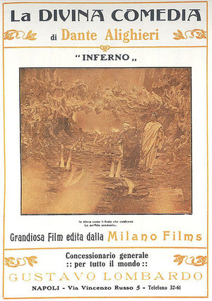 Cinema of Italy - L'Inferno (1911) the first full-length Italian feature film ever made
