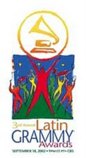 3rd Annual Latin Grammy Awards - Image: Latin grammy 2002 logo