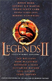 <i>Legends II</i> (book) collection of 11 short stories