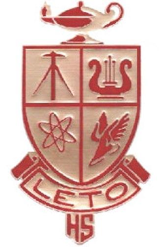 A. P. Leto High School - Image: Leto HS logo