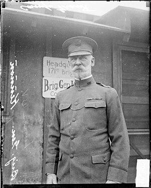 Lyman W.V. Kennon - Brig. Gen. Lyman W.V. Kennon at Camp Grant, Illinois -- 1917