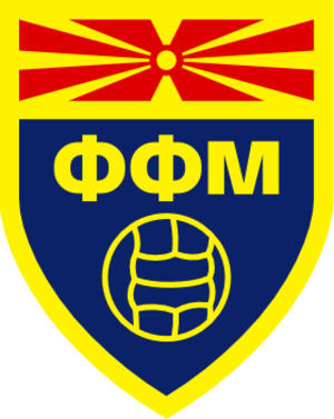 Football Federation of Macedonia - The previous logo used up until 2014.