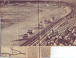 Memphis-Arkansas Speedway - Image: Memphis Arkansas Speedway Racing Picture