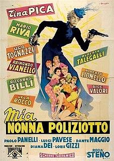 <i>Mia nonna poliziotto</i> 1958 film by Stefano Vanzina