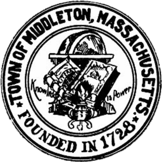 Middleton, Massachusetts - Image: Middleton MA seal