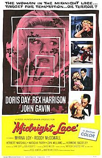 <i>Midnight Lace</i> 1960 film directed by David Miller