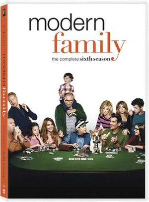 Modern Family (season 6) - Image: Modern Family season 6 DVD