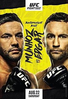 UFC on ESPN: Munhoz vs. Edgar UFC mixed martial arts event in 2020