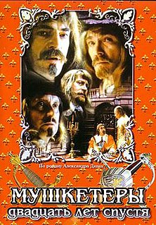 <i>Musketeers Twenty Years After</i> 1992 Russian film