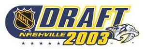 2003 NHL Entry Draft - Image: NHL draft logo nashville 2003