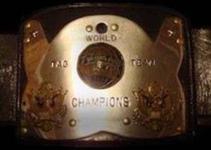 NWA World Tag Team Championship (Amarillo version) - The Amarillo version of the championship belt